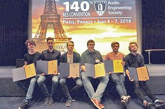 AES Convention der Audio Engineering Society