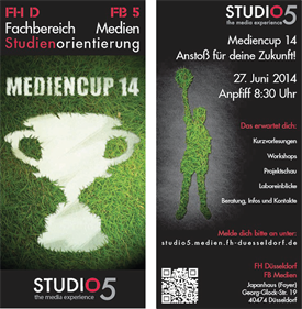 Studio5-Infotag 2014 Flyer