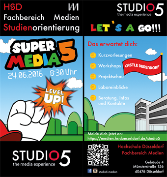 Studio5 Infotag 2016 Flyer